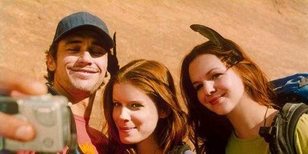 James Franco, Kate Mara et Amber Tamblyn dans 127 heures de Danny Boyle