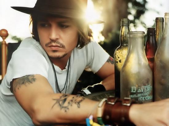Johnny Depp : un acteur qui a de la bouteille !