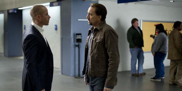 Nicolas Cage et Guy Pearce dans Le pacte de Roger Donaldson