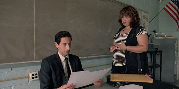 Adrien Brody et Betty Kaye dans Detachment de Tony Kaye