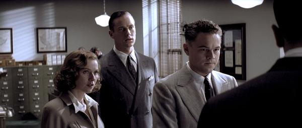 Leonado Di Caprio, Naomi Watts et Arnie Hammer dans J.Edgar de Clint Eastwood