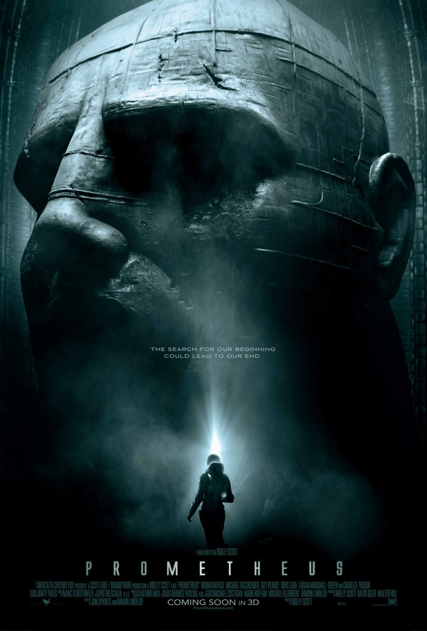 Poster de Prometheus de Ridley Scott
