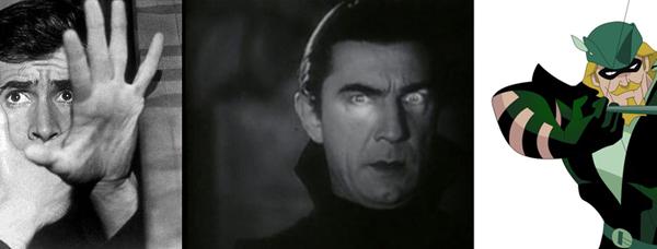 Psychose, Dracula et Green Arrow en séries TV