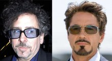 Tim Burton et Robert Downey Jr pour Pinnochio