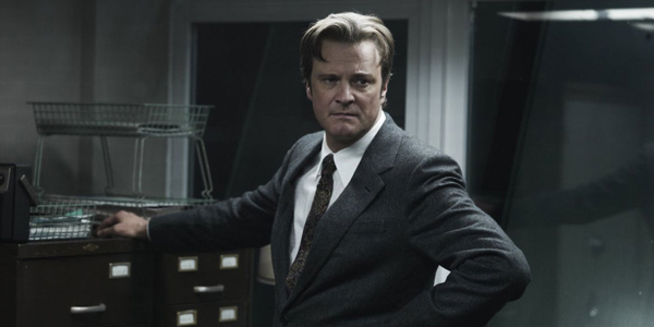 Colin Firth dans La Taupe de Tomas Alfredson