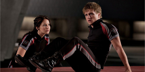 Jennifer Lawrence et Josh Hutcherson dans Hunger Games de Gary Ross