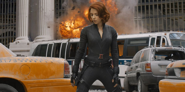 Scarlett Johansson dans The Avengers de Joss Whedon