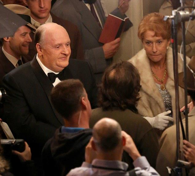 Anthony Hopkins et Helene Mirren dans Hitchcock