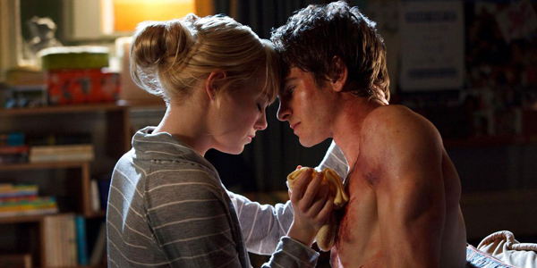 Andrew Garfield et Emma Stone dans The Amazing Spider-Man de Marc Webb