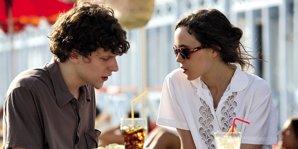 Jesse Eisenberg dans To Rome with love de Woody Allen