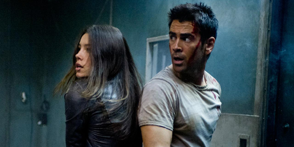 Colin Farrell et Jessica Biel dans Total Recall - mmoires programmes de Len Wiseman