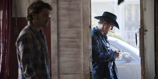 Emile Hirsch et Matthew McConaughey dans Killer Joe de William Friedkin