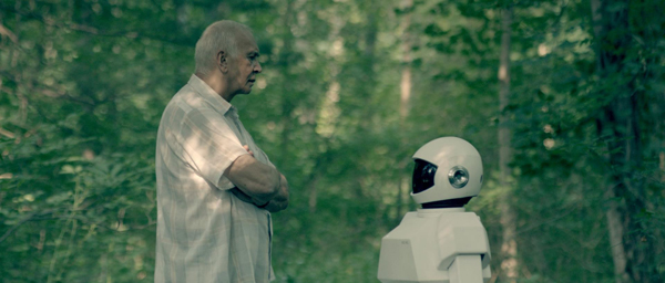 Frank Langella dans Robot & Frank