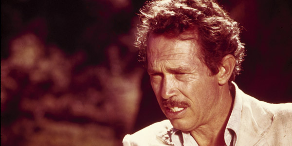 Warren Oates dans Apportez moi la tête d'Alfredo Garcia de Sam Peckinpah