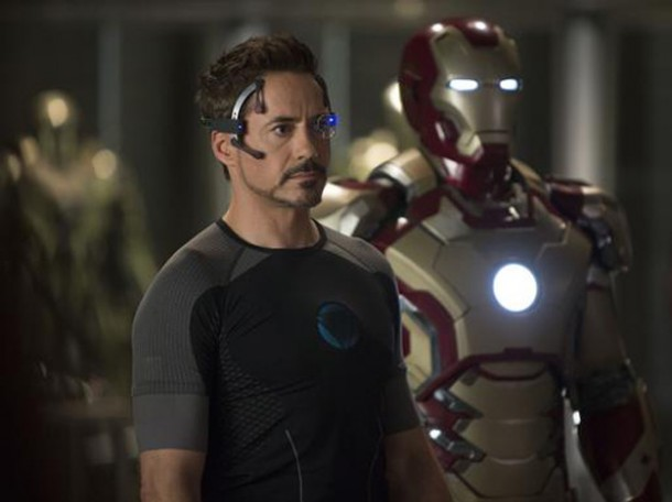 Robert Downey Jr dans Iron Man 3 de Shane Black