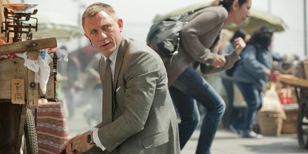 Daniel Craig dans Skyfall de Sam Mendès