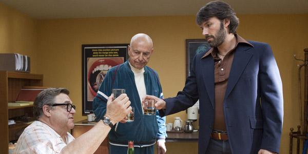 Ben Affleck, John Goodman et Alan Arkin dans Argo de Ben Affleck