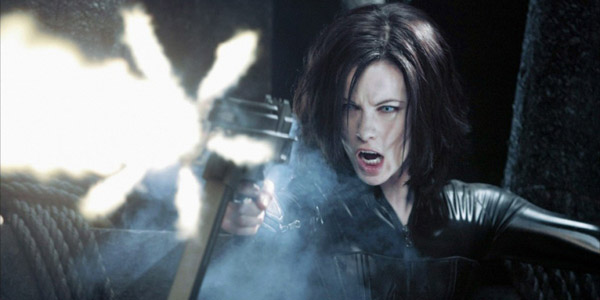 Kate Beckinsale dans Underworld de Len Wiseman