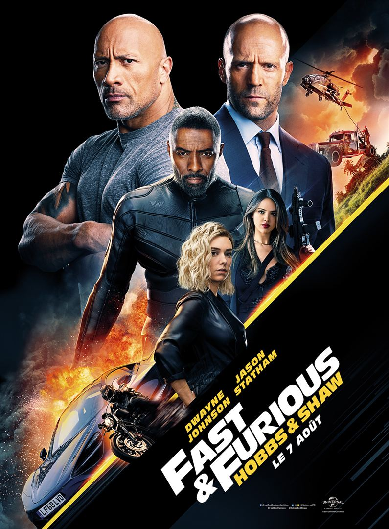 Critique : Fast & Furious – Hobbs & Shaw