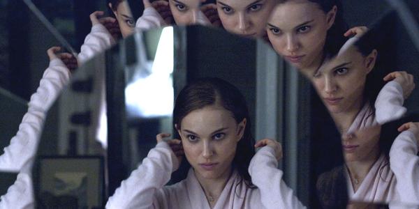 Nathalie Portman dans Black Swan de Drarren Aronofsky