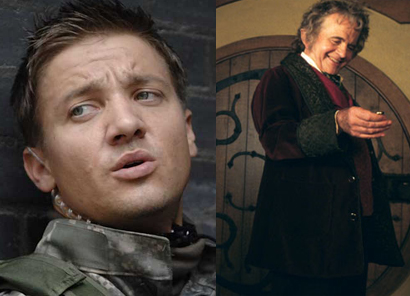 News : confirmations en série – Jeremy Renner dans Bourne Legacy, Ian Holm dans The Hobbit.