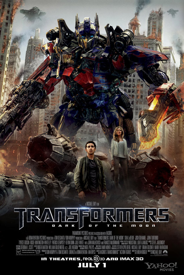 News : Nouvelle affiche de Transformers 3 – Dark of the Moon !