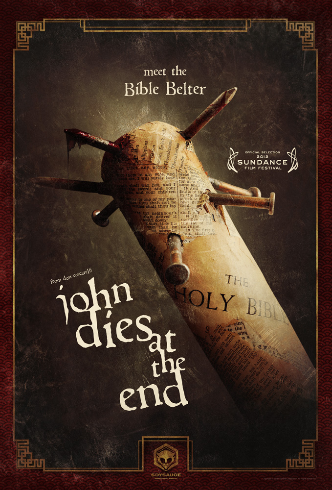 Poster de John Dies at the End de Don Coscarelli