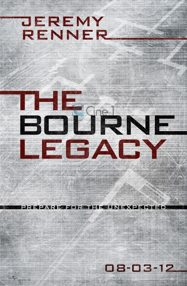 Poster teaser de The Bourne Legacy