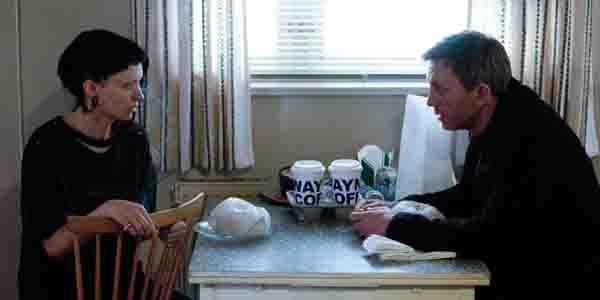 Rooney Mara et Daniel Craig dans Millenium de David Fincher