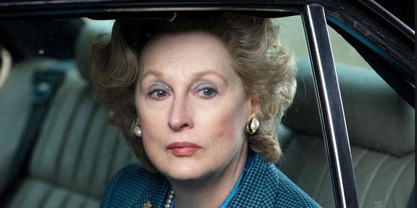 Meryl Streep dans La Dame de Fer
