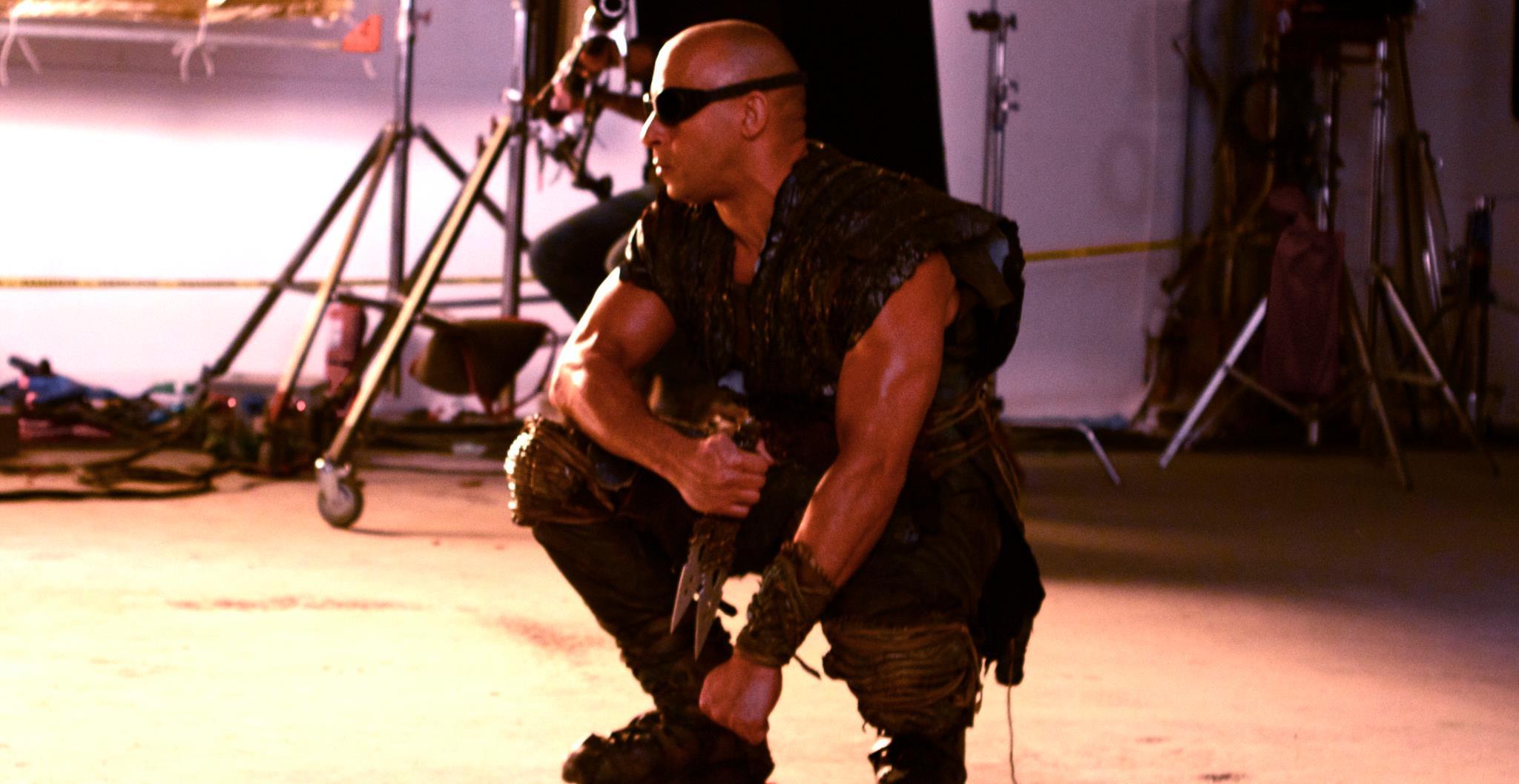 Vin Diesel dans Riddick de David Thowy