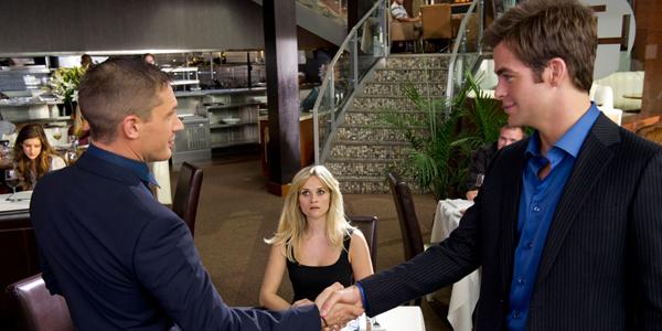 Chris pine, Reese Witherspoon et Tom Hardy dans Target de McG