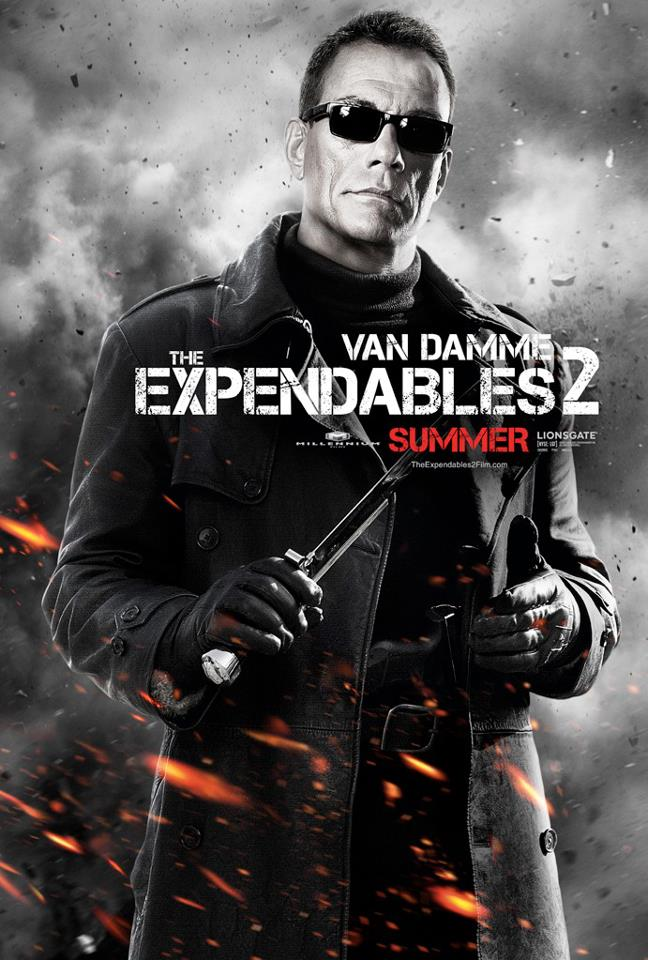 Jean Claude Van Damme dans The Expendables 2