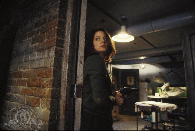 Jodie Foster dans le Silence des Agneaux de Jonathan Demme