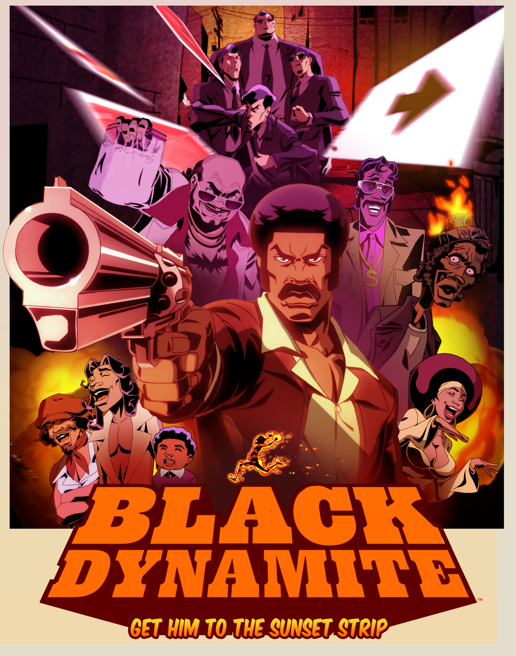 News : trailer de Black Dynamite, la série animée