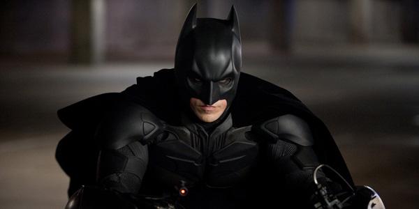 Christian Bale dans The Dark Knight Rises de Christopher Nolan