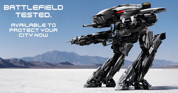 News : le reboot de Robocop s'offre une campagne virale