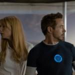 Gwyneth Paltrow et Robert Downey Jr dans Iron Man 3 de Shane Black