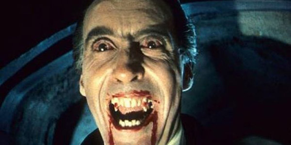 Christophe Lee dans Le Cauchemar de Dracula de Terrence Fisher