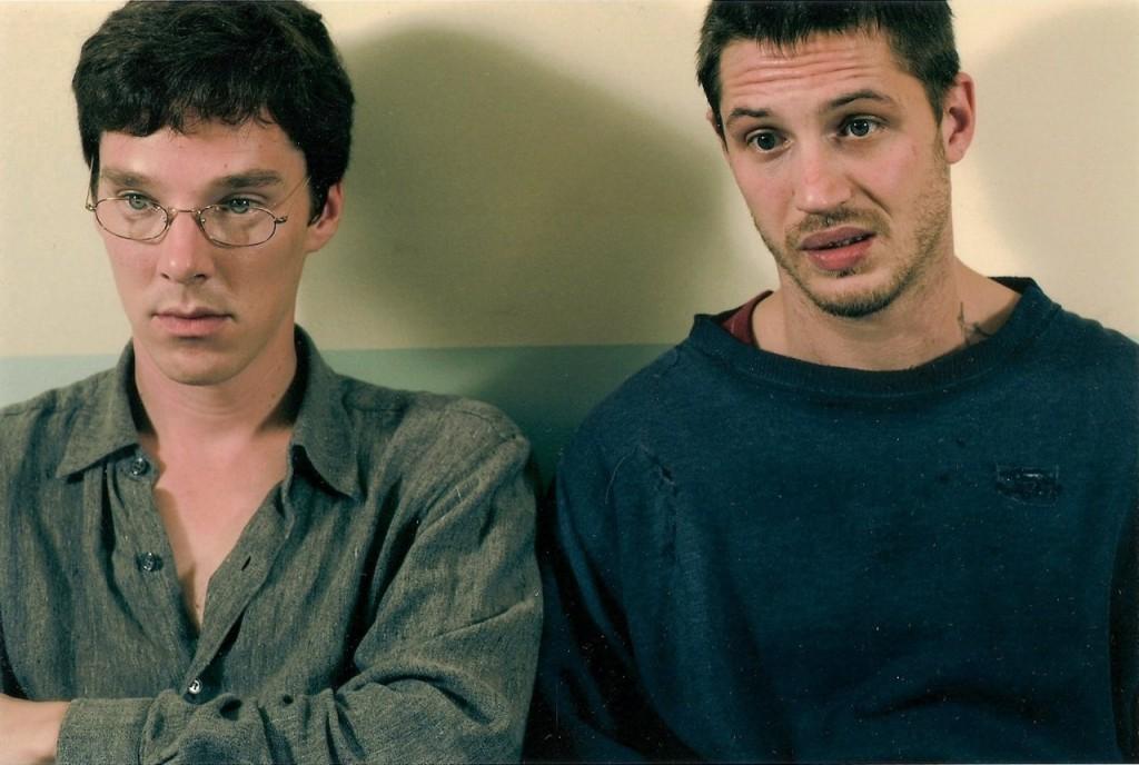 Tom Hardy et Benedict Cumberbatch dans le téléfilm Stuart