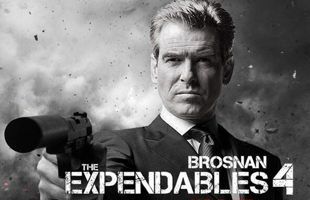 © Fan art mettant Pierce Brosnan en avant
