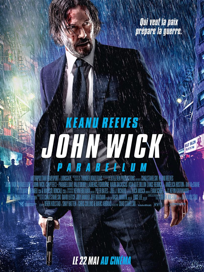 Critique : John Wick Parabellum